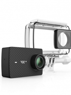 YI 4K Plus Action Camera waterproof case set Black